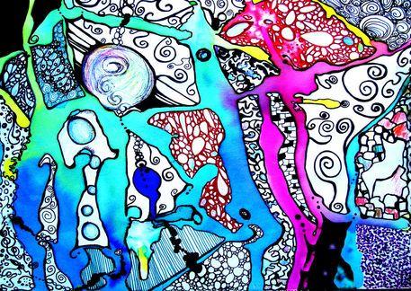 'Cells 2' by Lindsay Kokoska on artflakes.com as poster or art print $18.02