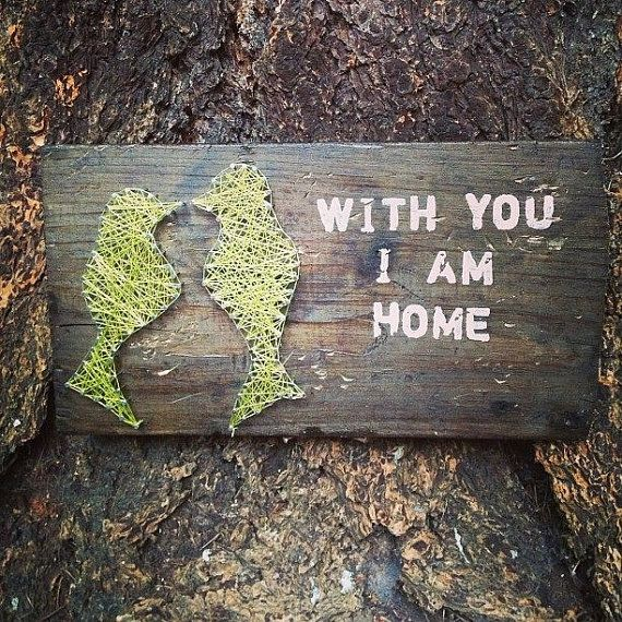 With You Custom string art Love birds on by TautlyTangled on Etsy, $25.00