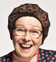 Winnie McGoogan (Eilish O'Carroll). Winnie's certainly not the sharpest knife in the drawer, but has been a good friend to Agnes ever since they first met.   Her husband Jacko has a bad back - if someone mentions work he can't get it off the bed! Their daughter, Sharon, is still good friends with Cathy, having grown up together.