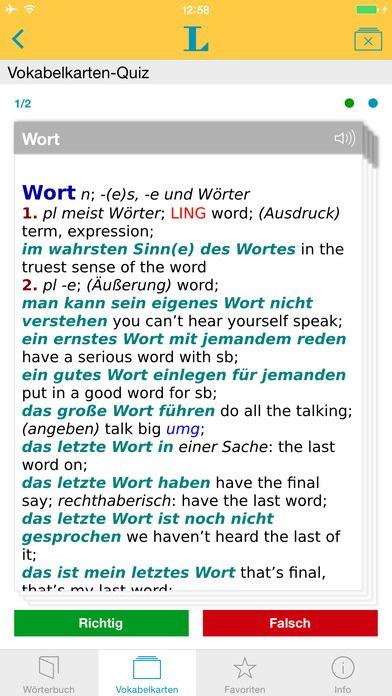 Langenscheidt collins e dictionary english