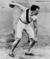1896 Olympics, Robert Garrett, USA