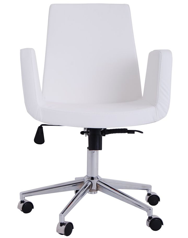white wooden office chair. claremont office chair white wooden
