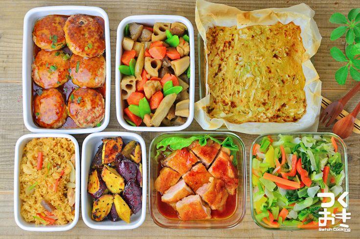 2015年11月第1週めの作り置き。調理時間90分で7品。使った食材から作ったおかず、1週間作り置きレシピを紹介します。作り置きをしない方も1週間の献立としてご利用下さい。