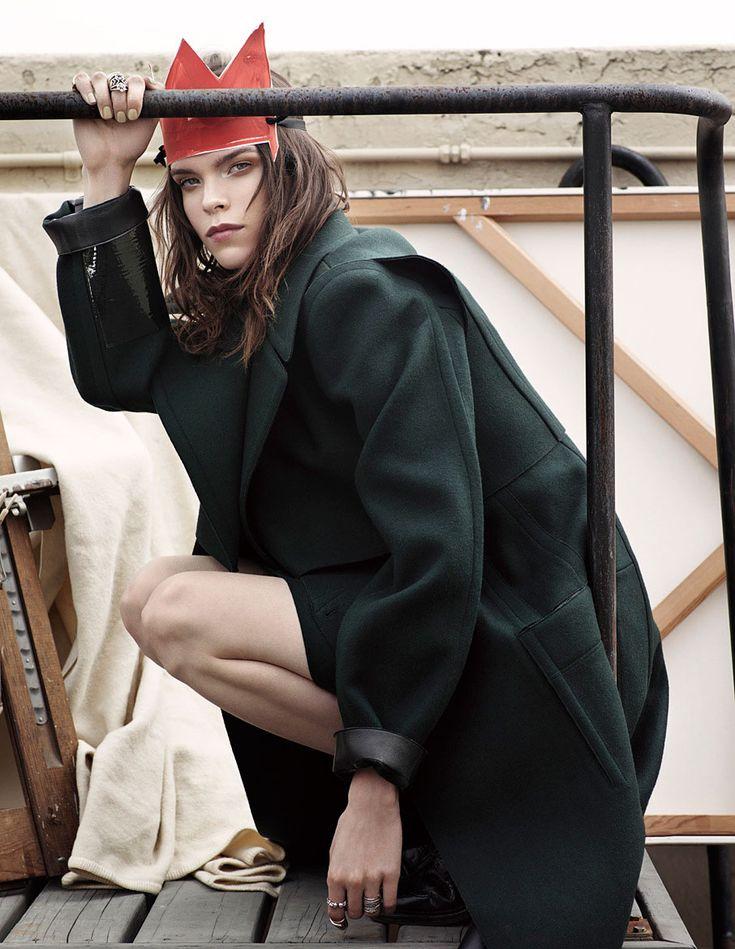Meghan Collison | Vogue Japan January 2014 by Mark Segal