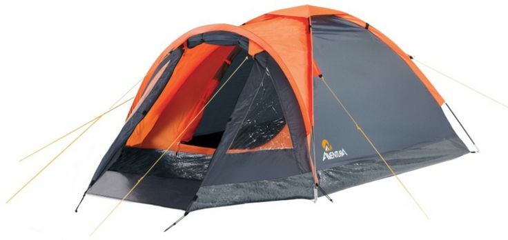 The Aventura 2 Man Dome Tent with porch is ideal for festival goers looking for a little extra storage space.