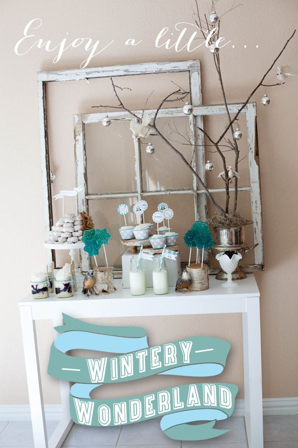 Winter Wonderland Party by A Blissful Nest