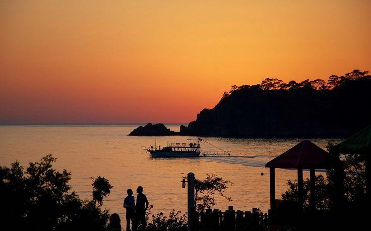 Sunset Olü Deniz Turkey