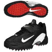Nike Men\u0027s Air Pro Turf Destroyer Low - Black/White - Football Shoes - Used