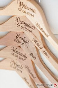 These hangers are a beautiful gift idea