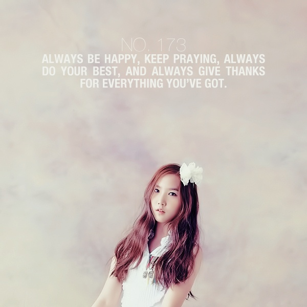 always pray always give thanks kpop lyrics and quotes