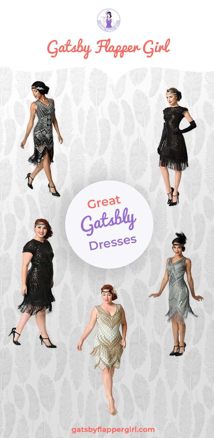Gatsby Dresses • Dresses for a Great Gatsby Party [ 2019 ] | Great ...