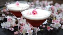cherry blossom cocktail for Easter