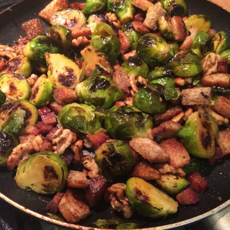 Depot style Brussel Sprouts Recipe