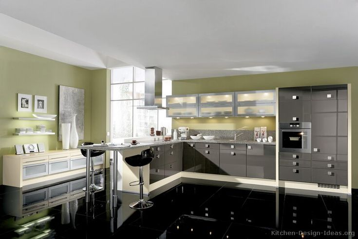 Kitchen cabinets, Gray kitchen cabinets and Cabinets on Pinterest