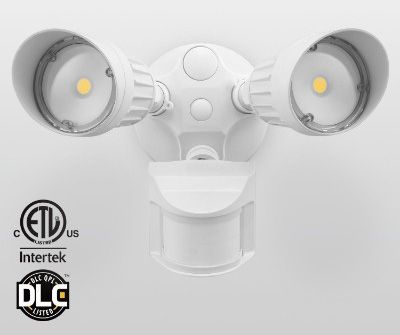7 best top 7 best outdoor motion sensor lights in 2018 reviews leonlite 20w dual head motion activated outdoor security light aloadofball Images