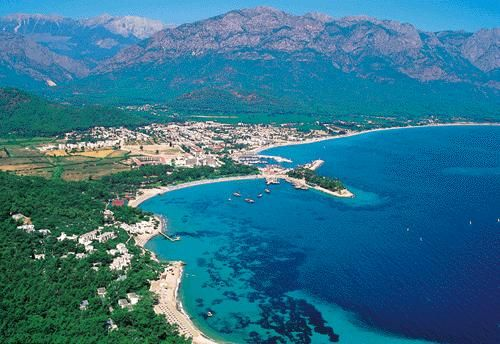 Kemer in the Turkish Riviera.