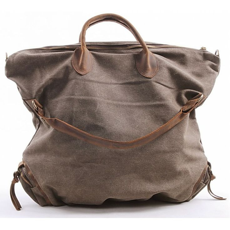 14 best Leather Canvas Bags / Torby bawelniane skorzane images on ...