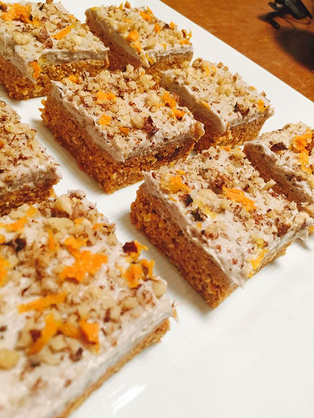 Raw vegan moist carrot cake with cashew, walnut and orange frosting | News | Lorraine Pascale