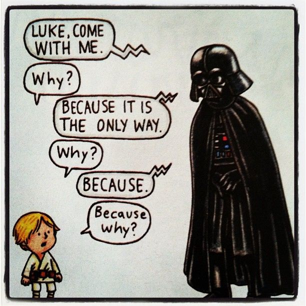 Parenting on the Dark Side - This is sooo my daughter.