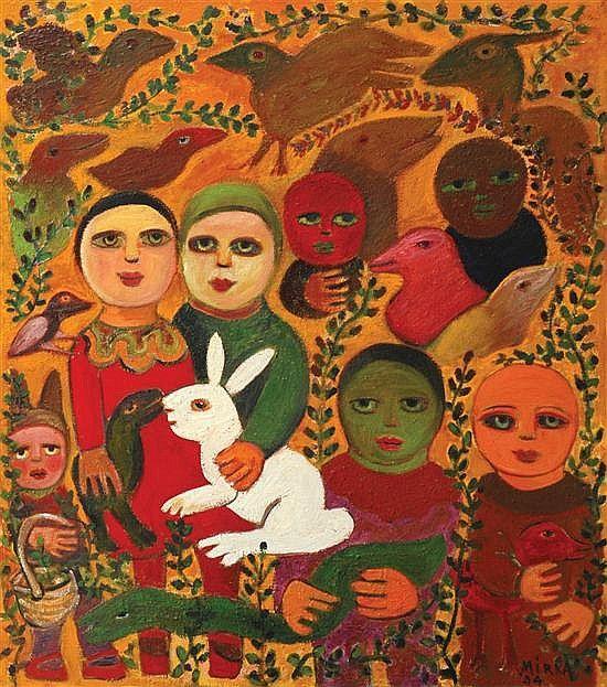 MIRKA MORA: Prominent French-born Australian visual artist — THE CALLA LILY DIALOGUES