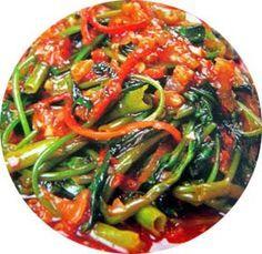 Sri Lankan Food and Recipes: KANKUNG DEVIL