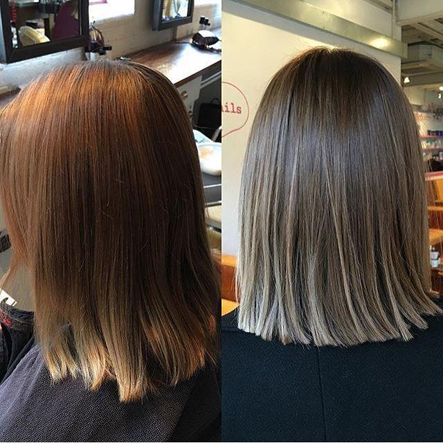 Image result for cool toned brunette balayage