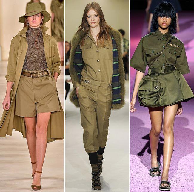 Spring/ Summer 2015 Color Trends: Khaki