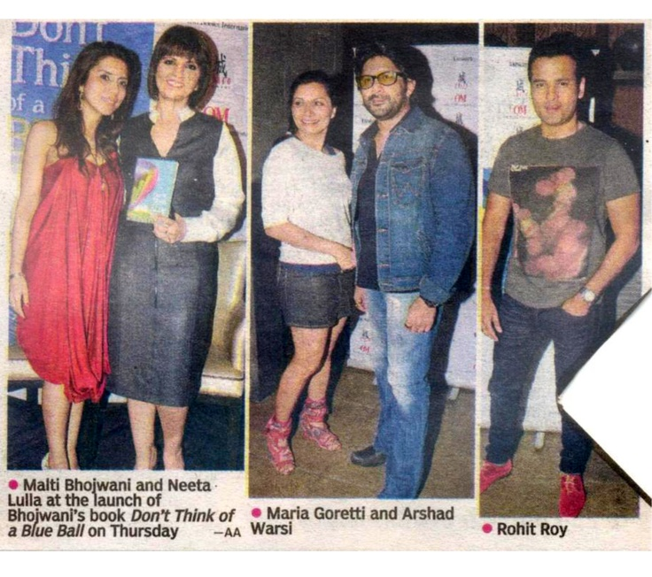 The Asian Age covers the book launch at Shiro, Mumbai!