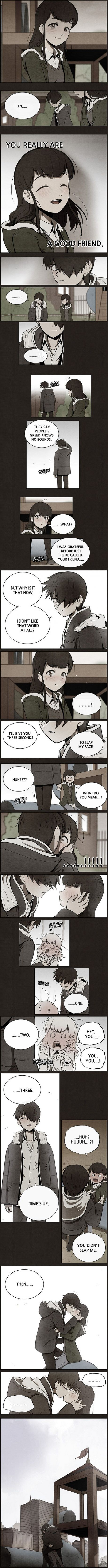 OKAY NOPE THIS SCENE MAY BE FINE BUT IVE READ THE FULL COMIC AND JESUS CHRIST IT FUCKED ME UP REAL BAD. You can find it on webtoons, its called Bastard