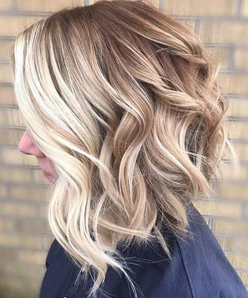 Short Blonde Hairstyles 2018 for Thick Hair