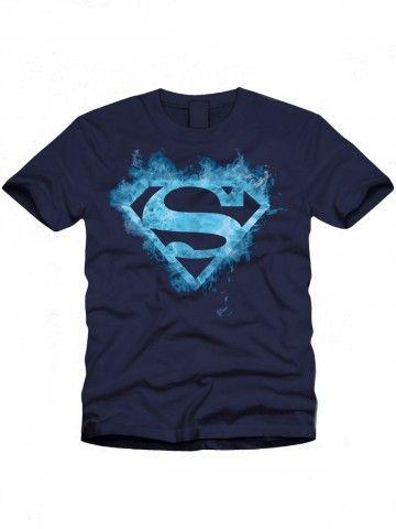 Buy T-Shirts Online | Superman Series Navy Blue T shirt | BIO-259 | cilory.com