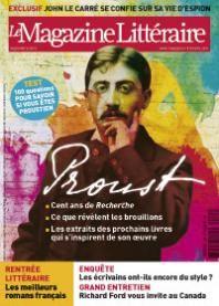 Extraits  du sommaire du N°535 septembre 2013.-Dossier Proust, cent ans de recherche.