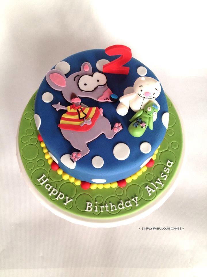 Toopy and binoo cake