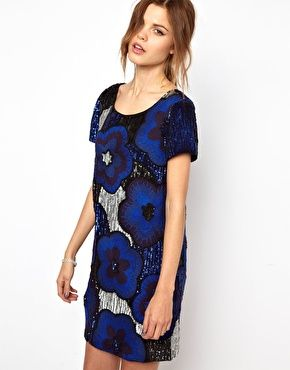 French Connection Fauna Fantasy Beaded Dress at asos.com #frenchconnection #dress #covet.me