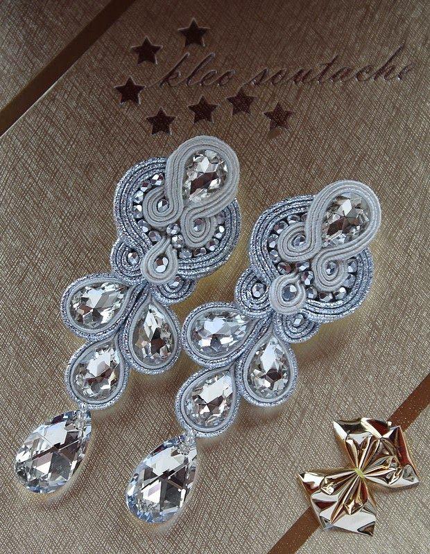 Sutasz Kleo /Soutache jewellery: MADELINE ECRU