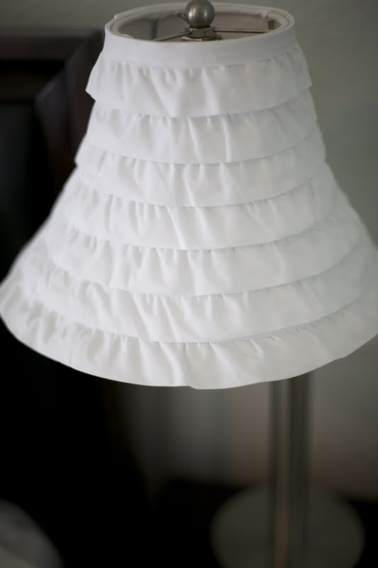 Growing Up Gardner: Ruffle Lamp Shade DIY, and more Master Bedroom