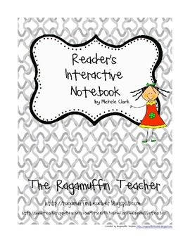 Reader's Interactive Notebook Letter and Rubric {Freebie}