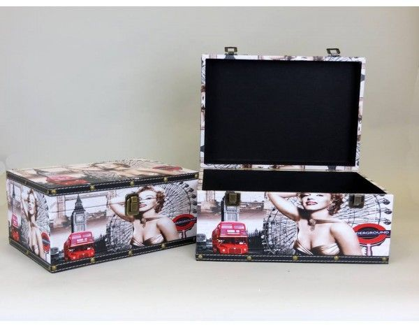 Marilyn Monroe Set of 2 London Storage Boxes & 58 best Storage Boxes images on Pinterest | Marilyn monroe Marylin ...