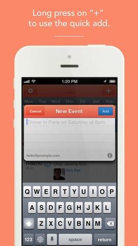 Sunrise app - iPhone Screenshot 4