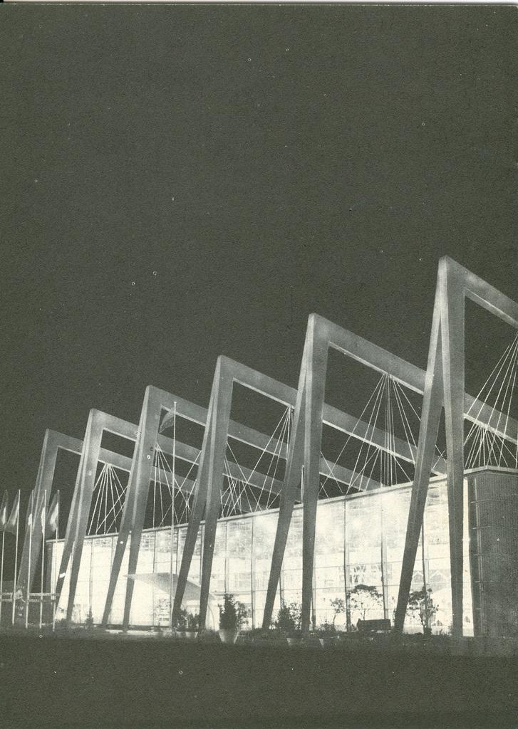 European Community Pavilion Expo. Brussels, 1958.