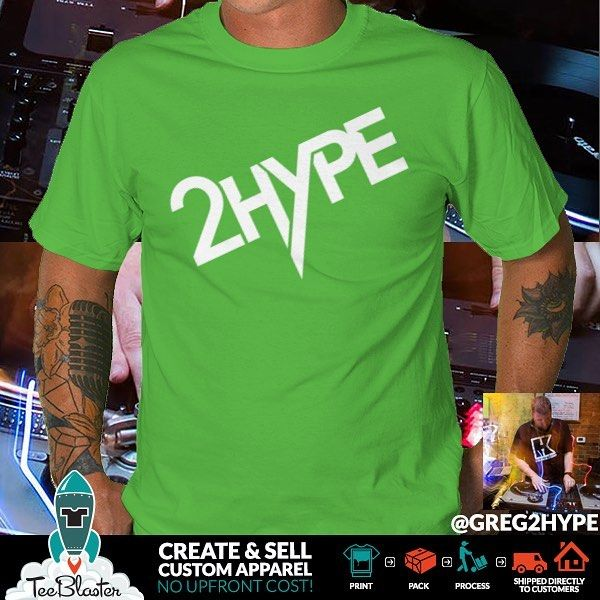 We love working with rad bands solo artists DJs and more. Check out this new TeeBlst from @greg2hype TeeBlaster is a great way to raise money for new recording earn funds between tours and gigs and it's a great way to make fans happy! #bandmerch #merch #hiphop #rap #rapper #countrymusic #indieband #punkrock #alternativeband #metalband #tshirt #tshirtdesign #vectorart #vectorartist #digitalart #indiemusic