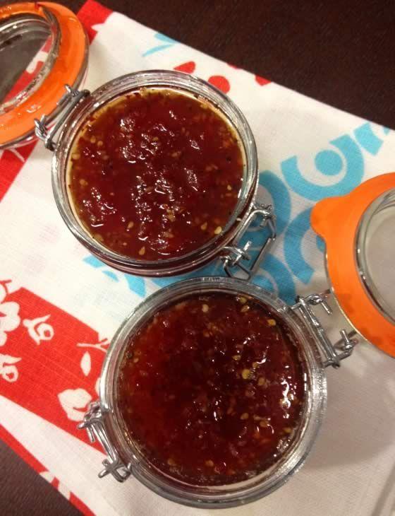 Tomato, chilli and ginger jam - Sainsbury's Magazine