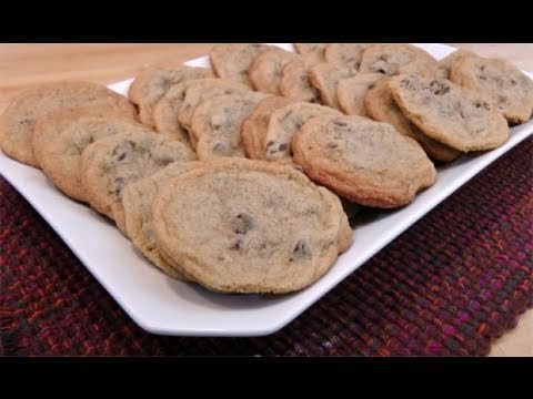 Chocolate Chip Cookies Recipe - Laura in the Kitchen - Internet Cooking Show Starring Laura Vitale