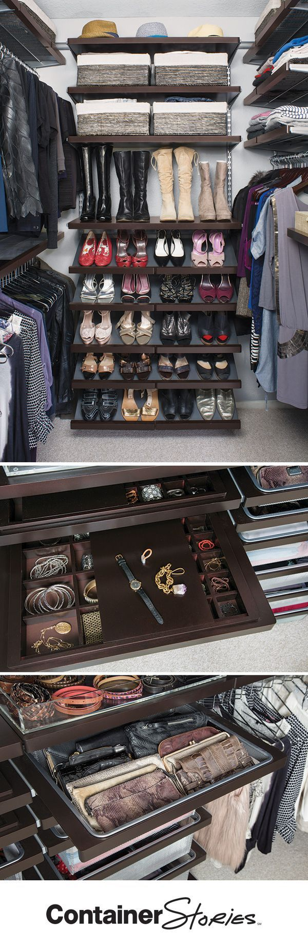 See how we gave this busy actress and mom an elfa closet worthy of the spotlight.