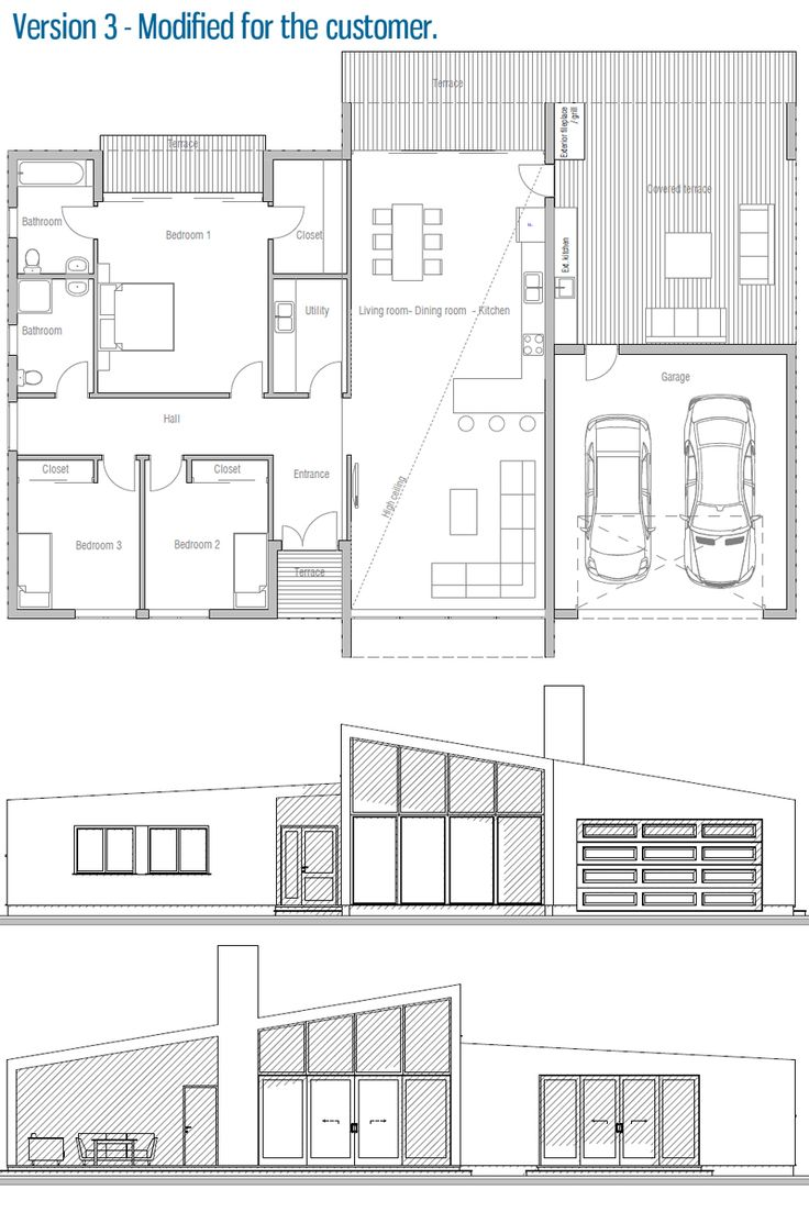 House design small house ch281 42