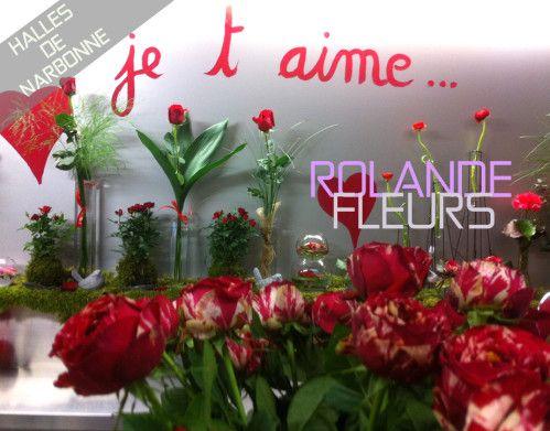 Collection de bouquets tendances, Rolande vous propose une large collection de bouquets de fleurs http://www.rolande-fleurs-halles-narbonne.com/article-des-fleurs-pour-la-st-valentine-aux-halles-122442766.html