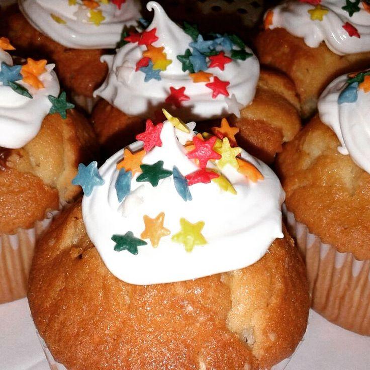Cupcakes divertidos rellenos de Nutella o Manjar