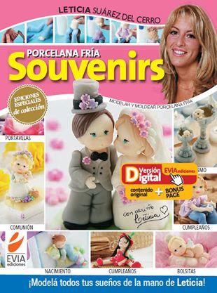 Porcelana fría #Souvenirs #nacimiento #casamiento #bautismo Descarga esta edición completa en www.eviadigital.com