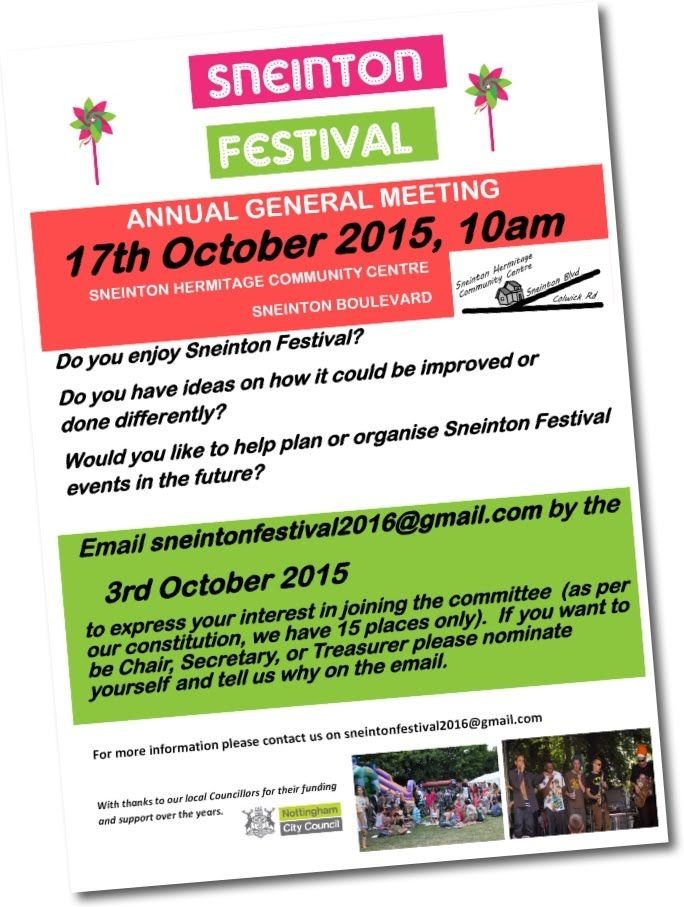 Sneinton Festival - Sneinton Alchemy