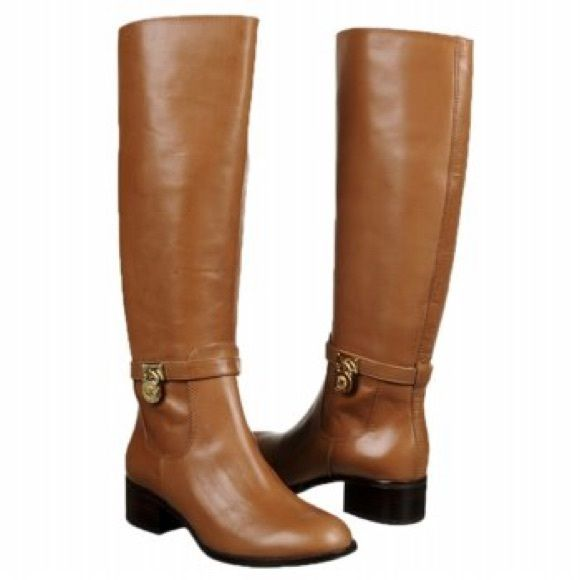 Michael Kors Leather Boots 100% Authentic!!! Made out out real leather! EXCELLENT condition! Only wore about 5 times last fall. Dark brown in color. MICHAEL Michael Kors Shoes